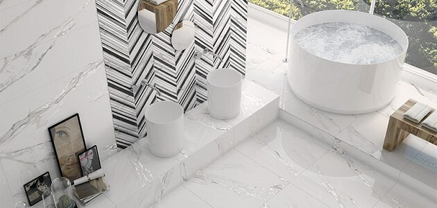 carrelage interieur selecta carrara white plus ibero
