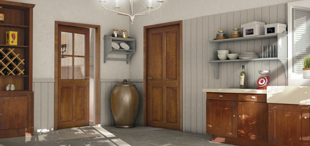 porte intérieur rénovation aubrac rozière