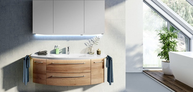 meuble de salle de bain cassca ligne 212 azurlign