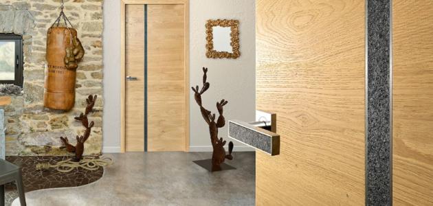 porte d'intérieur collection gamme bi-matière rozière