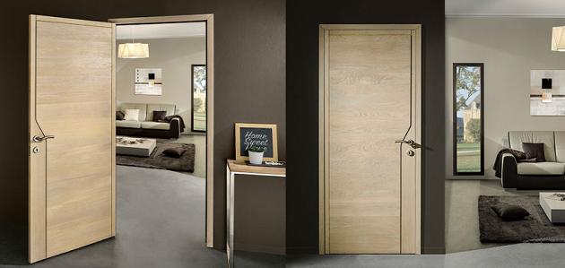 porte intérieur gamme design modèle hegoa 3D rozière