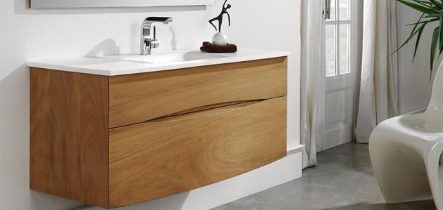 meuble de salle de bain iroko o'design