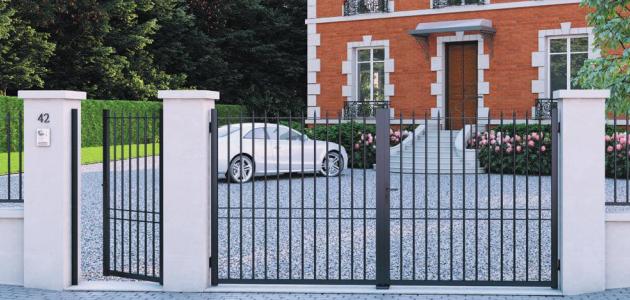 portail aluminium bellevue gamme chatelaine jardimat