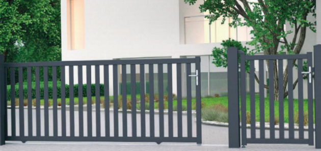 portail aluminium chaleze gamme classic jardimat