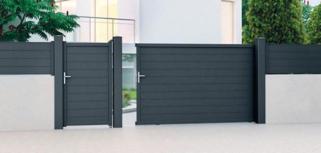 portail aluminium evans gamme classic jardimat