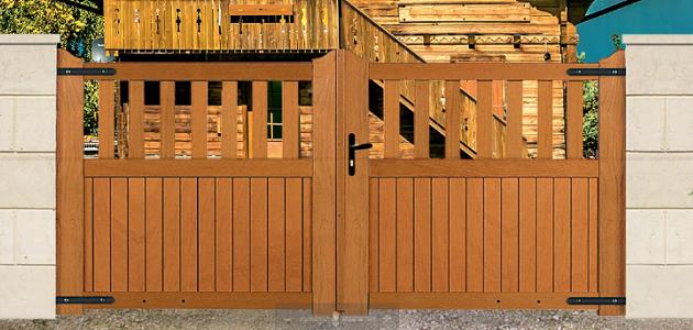 portail bois garapa cofreco