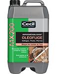 imperméabilisant oléofuge mx200 cecil