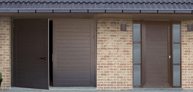 porte garage battante novoferm