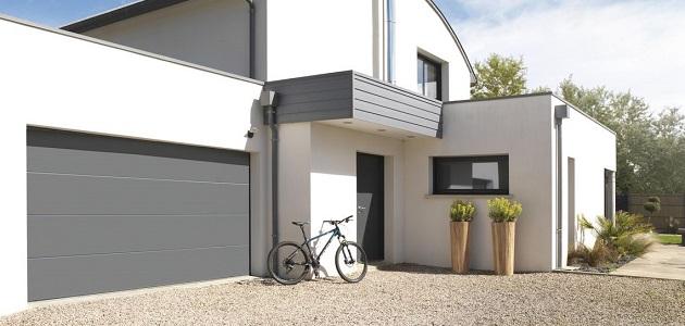 porte de garage sectionnelle ISO45 novoferm