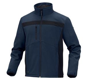 vetements de travail veste lulea2 marine noir deltaplus