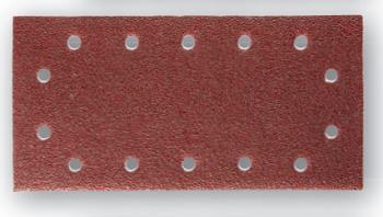 BLISTER DE 5 PATINS AUTO-AGRIPPANTS 115 X 230 MM - Pour ponceuses vibrantes et excentriques 10960034 SIDAMO